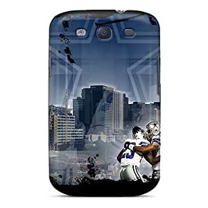 CassidyMunro Galaxy S3 Protector Cell-phone Hard Cover Support Personal Customs High-definition Dallas Cowboys Series [nEP19315iQjP]