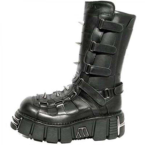 New Rock Boots M.138-c1 Gotico Hardrock Punk Unisex Stiefel Schwarz