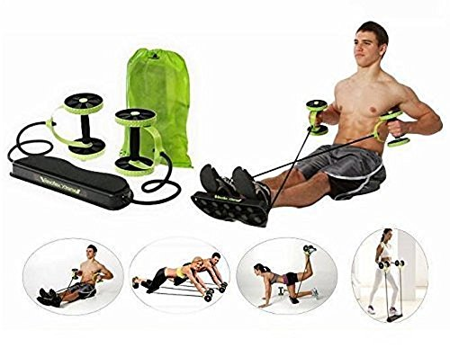 ladygifts Ab Roller Pro Carver; Core Muscle Exercise Trainer (with training guide)