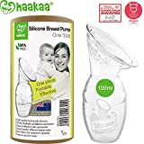 Haakaa Manual Breast Pump 4oz/100ml,2019 New Style
