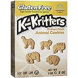 Kinnikinnick Graham Style KinniKritters Animal Cookies, 220 Gram