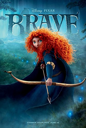 Brave  - Only Arrow - 13 in x 19 in Movie Poster Flyer BORDE