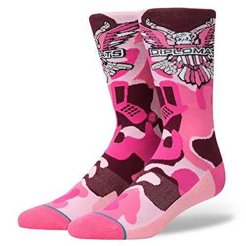 Stance CamRon Camo Socks Pink
