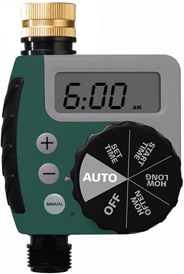 Orbit 62056 One Outlet Single-Dial Hose Watering-timers : Watering Timers : Garden & Outdoor