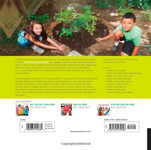 Gardening Lab for Kids: 52 Fun Experiments to Learn, Grow, Harvest, Make, Play, and Enjoy Your Garden (Hands-On Family) by Quarry Books (Image #2)