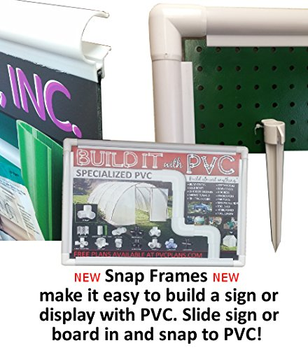 Circo Innovations, Inc. Snap Frame 1 in. x 48 in. x 6mm Greenhouse Clamp by Circo Innovations, Inc. (Image #1)