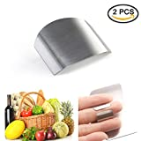 2Pack Finger Hand Protector Guard Chop Safe Slice Kitchen Tool Stainless Steel By IDS
