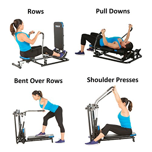 ProGear 750 Rower with Additional Multi Exercise Workout Capability, Black by ProGear (Image #3)