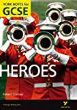 img - for Heroes: York Notes for GCSE book / textbook / text book