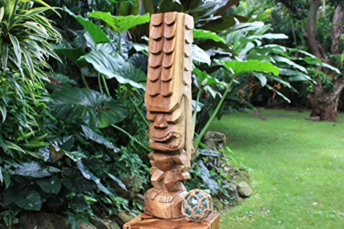 Tiki Kona Style Kane 32'' - Natural Hawaii Museum Replica by TikiMaster