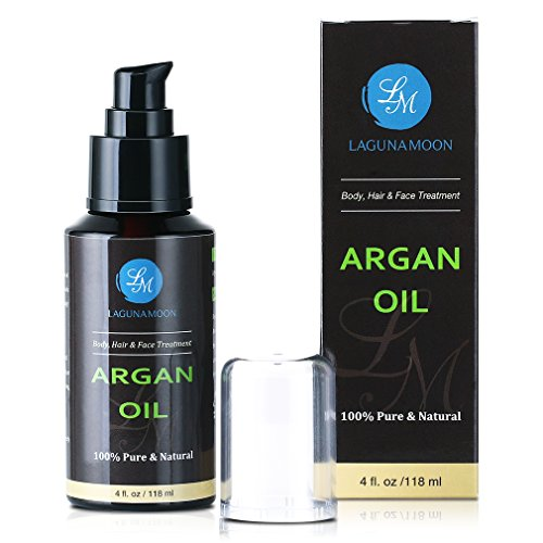 Organic Argan Oil Moroccan Cold-Pressed Argan O...