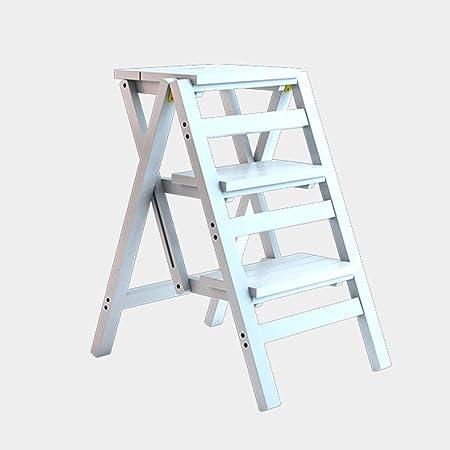 Sedie Pieghevoli Legno Ikea.Gff Scaletta Multifunzionale Sgabello Per La Casa In Legno