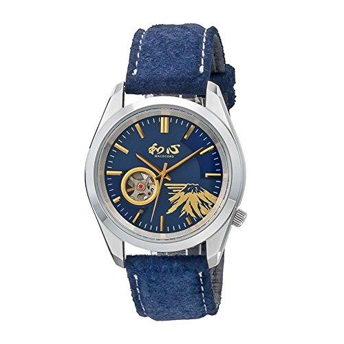 ワココロ(Wacocoro) 腕時計 ネイビー 個装サイズ:10×18×5cm B07C7LV32W