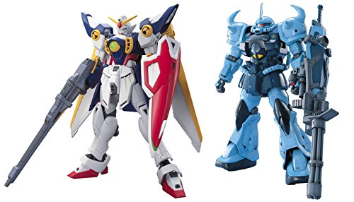 2-Bandai-Gundam-Models-MG-MS-07B-3-GOUF-CUSTOM-and-HGAC-XXXG-01W-Wing-162-Japan-Import