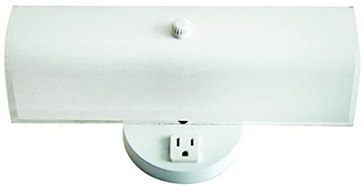 Bulb Bath Vanity Light Fixture Wall Mount With Plugin - Bathroom vanity light with outlet