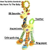 FOREAST Kids Handbells Rattles Toy Baby Soft Plush
