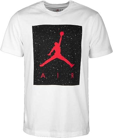 NIKE Jordan Poolside - Talla M - Camiseta para Hombre - Color Blanco: Amazon.es: Ropa y accesorios