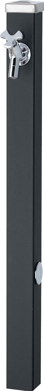 ユニソン(UNISON) 立水栓 スプレスタンド60 左右仕様 マットブラック 蛇口1個セット シルバー B01IH1GL88 23270 マットブラック マットブラック