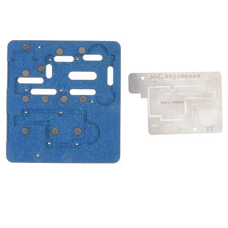 KESOTO - Placa Base electrónica PCB BGA Soporte de reballing Soldador Jig Fixture Herramienta Auxiliar de