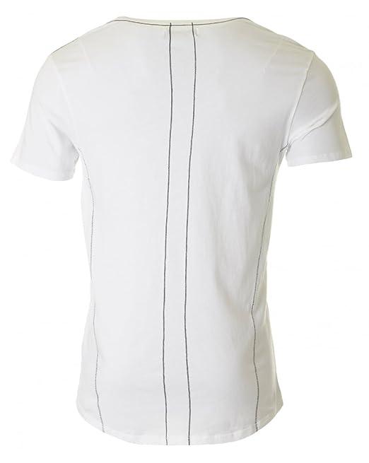 Religion Herren Ziehen Sie sie nach unten Rundhals-T-Shirt, Weiß, XX-Large:  Amazon.de: Bekleidung