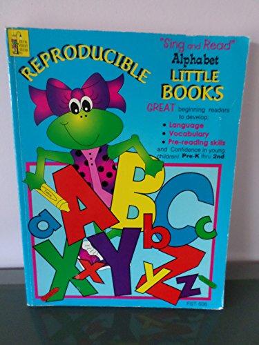 Reproducible Frog Street Sing Read Alphabet Little Book FST506