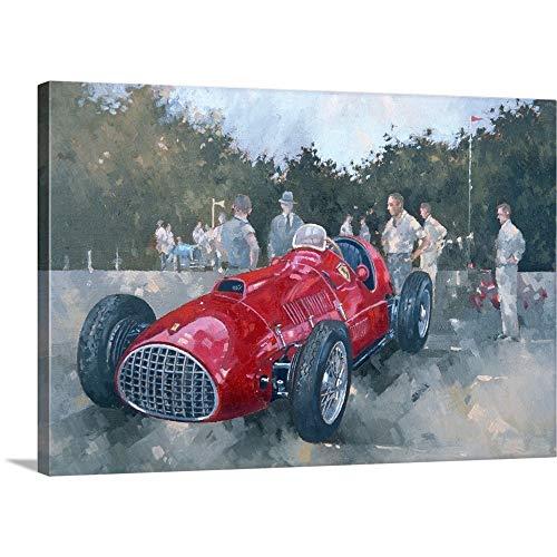 1951 Ferrari Canvas Wall Art Print, 36