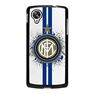 Charming Indispensable Design Football Club Internazionale Milano Phone Case Mystery Series inter Logo Case Cover Snap on Google Nexus 5