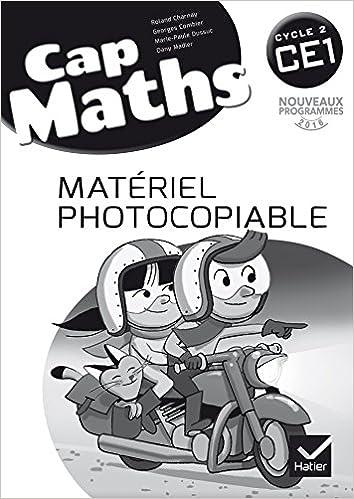 Cap Maths CE1 cycle 2 - éd. 2016 - Matériel photocopiable (French Edition)