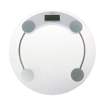 yumian grasa corporal báscula, peso báscula de cristal báscula portátil Digital LCD báscula de baño gimnasio electrónica 400 libras: Amazon.es: Deportes y ...