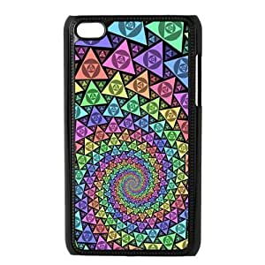 Colorful Vortex Pattern Protective Hard PC Back Fits For Iphone 5/5S Case Cover