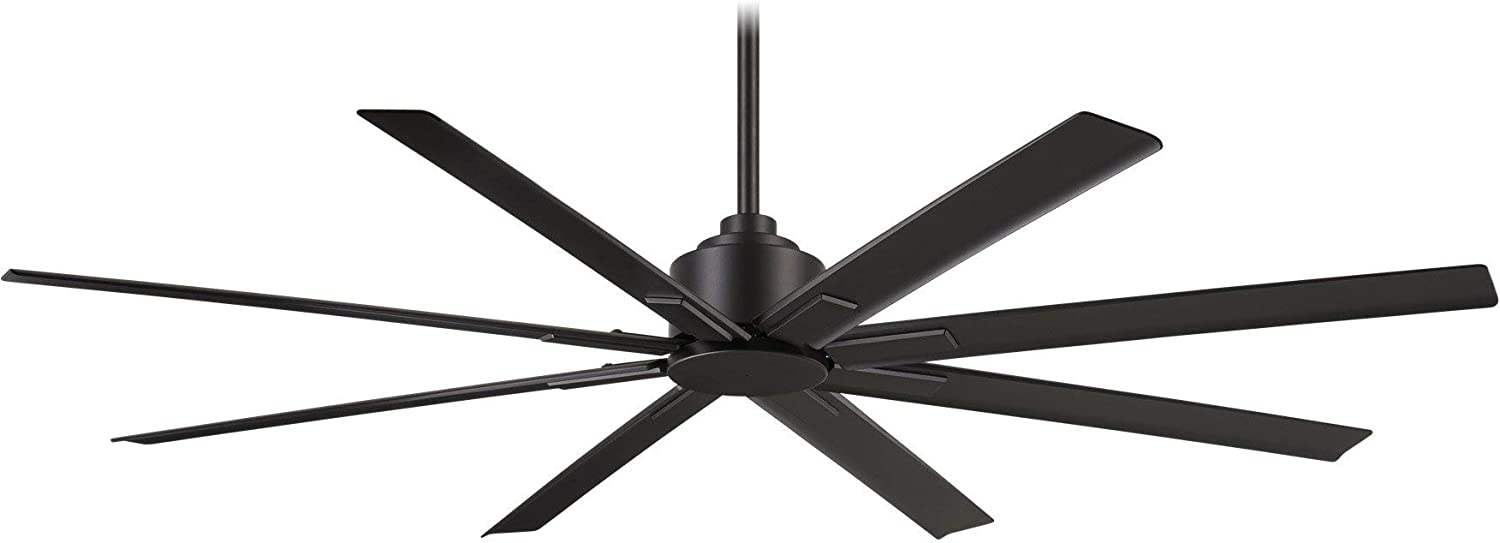 "Minka-Aire F896-65-CL Xtreme H2O 65"" Outdoor Ceiling Fan with Remote Control, Coal"