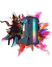 Linha Pc Gamer Intel Core i7-8ªG, Ram Gamer 16GB DDR4, SSD 480GB, Fonte 500w -