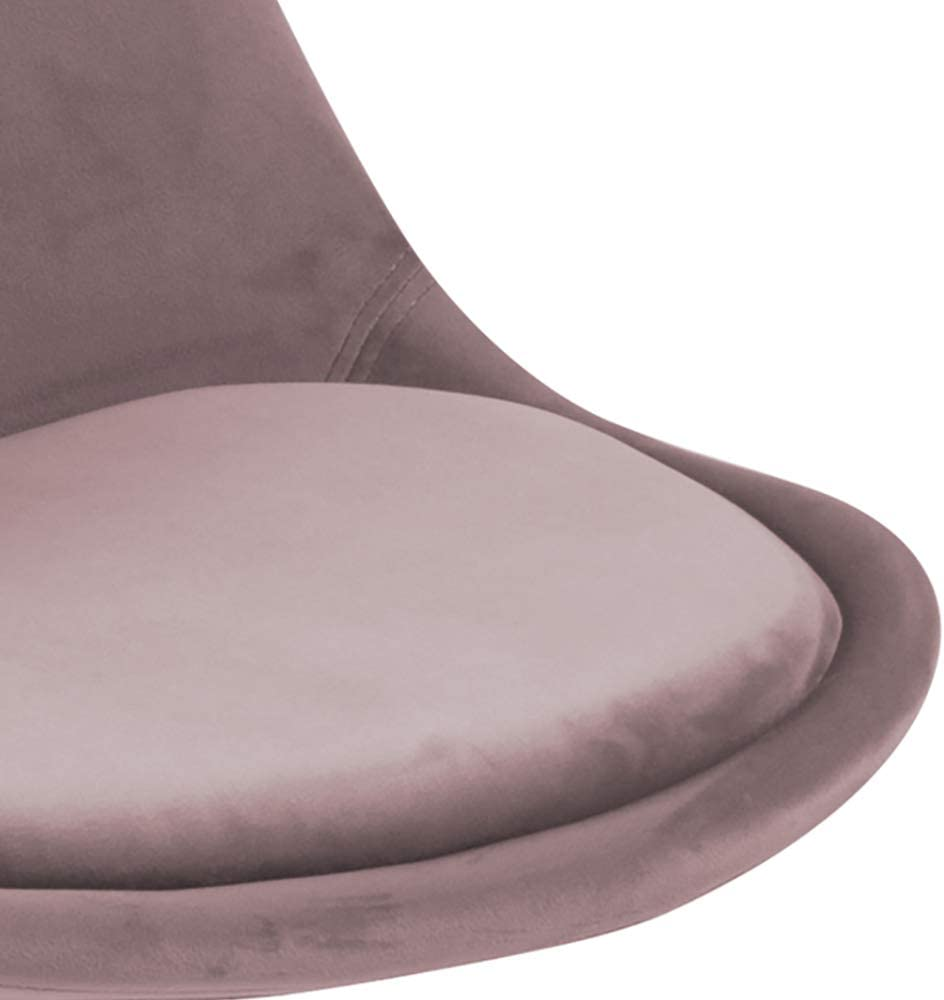 Movian Arendsee 55 x 48,5 x 85/cm Brand Set da 2 sedie sala da pranzo rosa