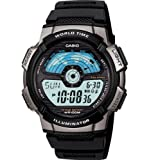 Casio Men's AE1100W-1A Sport Multi-Function Grey Dial Watch