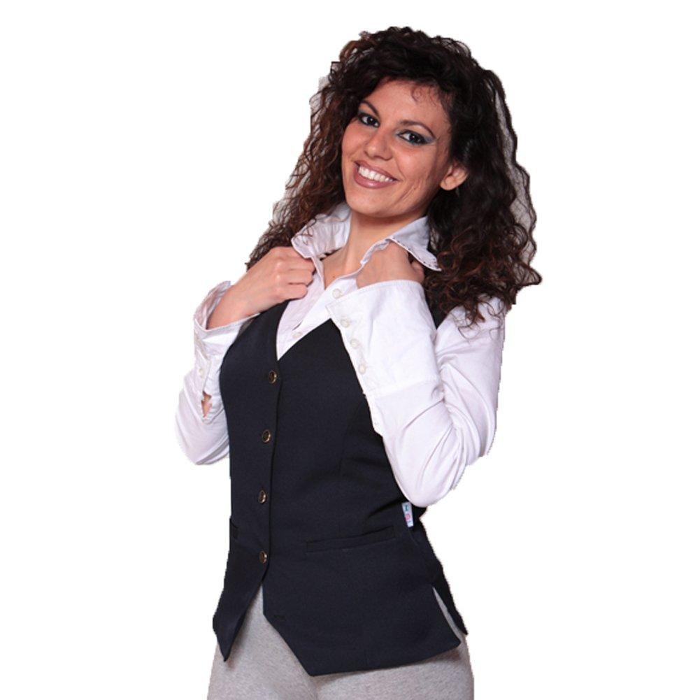 Fratelliditalia Gilet donna barista da lavoro bar ristorante sala albergo hotel cameriera
