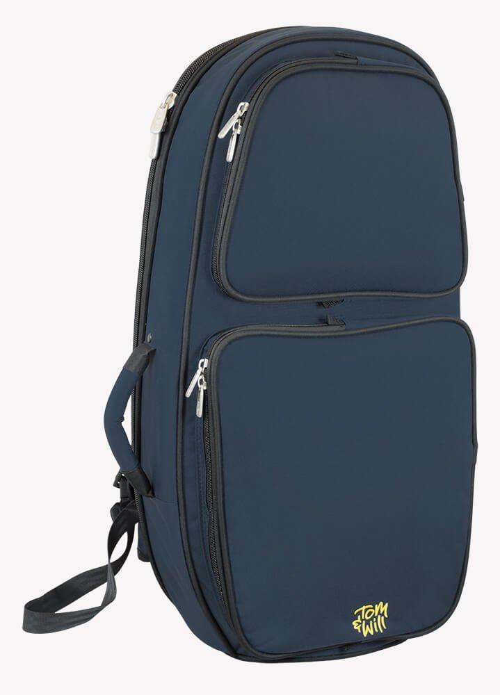 Tom & Will 26BH-387 Baritone Horn Gig Bag, Blue tomandwill
