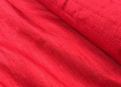 HIGH QUALITY 100/% PURE SILK DUPION RED ALL SIZES