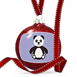 Christmas Decoration Cute Animals for Kids Panda Bear Ornament
