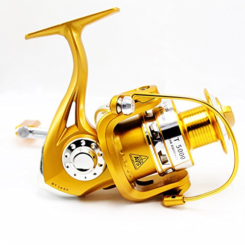 Tact pro saltwater fishing reels open face spinning reel for Open face fishing reel