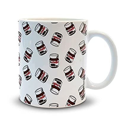 Buy Shoppers Bucket Floating Nutella Coffee Mug Online At Low Prices