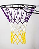 Basketball Net | NCAA & NBA Size | Fits Indoor and Outdoor Hoop/Goal | Replacement Netting for Official, Boys, Youth, Pool/Poolside Games. Blue, Yellow, Gold, White, Black & more by Fandom Nets