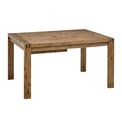 a4af0d3db86a Amazon.com - Zen Dining Table Reclaimed Brown See Below - Tables