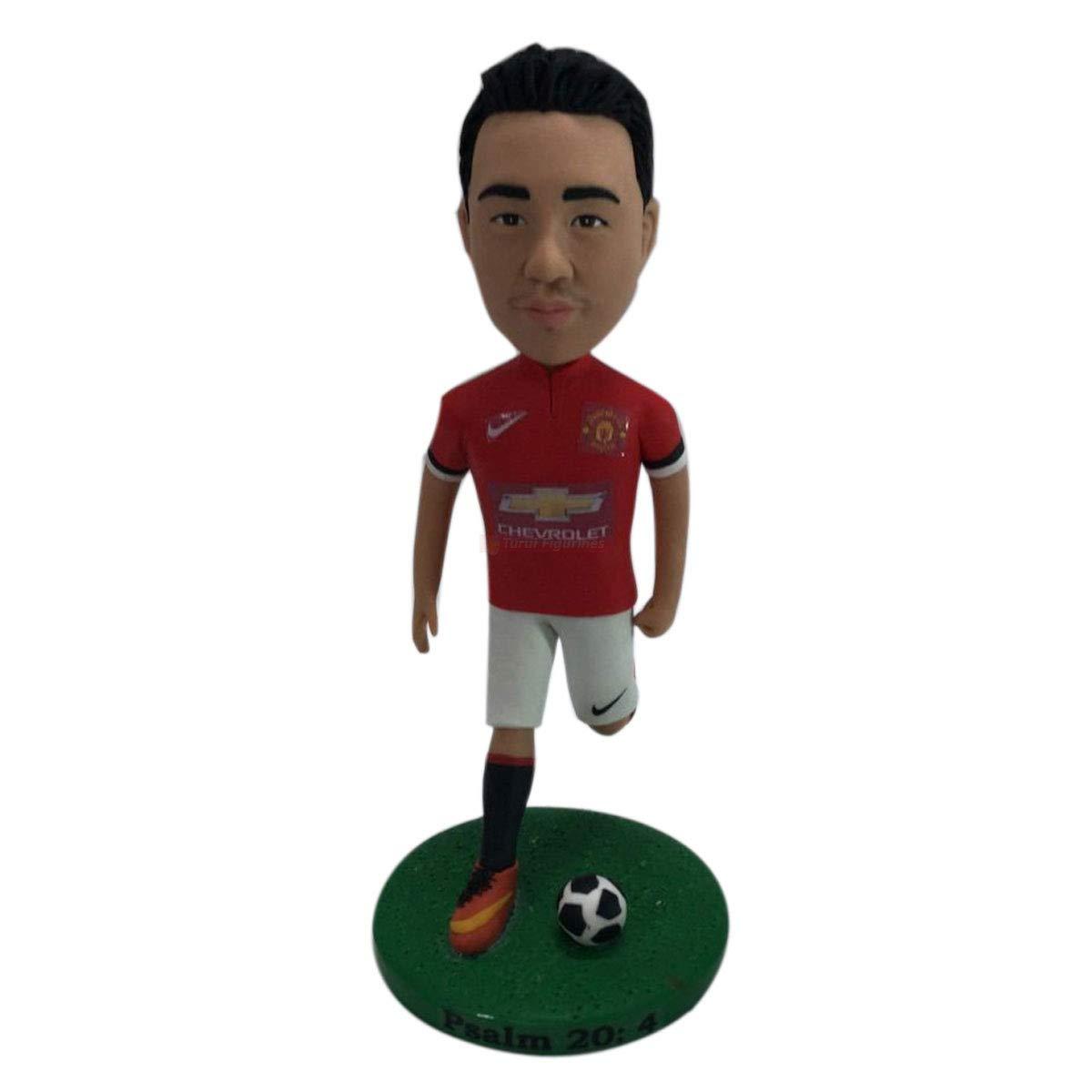 Soccer Bobble Head Personalized Soccer Cake Topper Soccer Personalized Gift Soccer Boyfriend Gift Soccer Christmas Gift Soccer Birthday Gift