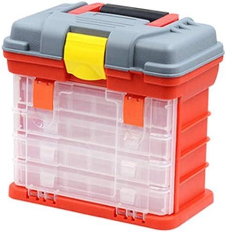 TOPIND Cajas para aparejos pesca Caja de herramientas de plástico ...
