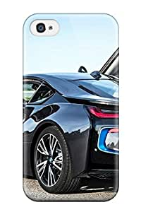 Premium Protection Future Electric Cars Bmw Case Cover For Iphone 4/4s- Retail Packaging