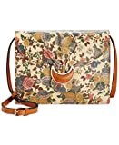 Patricia Nash Women's Van Sannio Trifold Clutch Denim Fields Natural Clutch