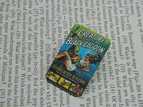 Creature from the Black Lagoon Lapel Pin Vintage Movie Poster mixed media jewelry for $<!--$12.00-->