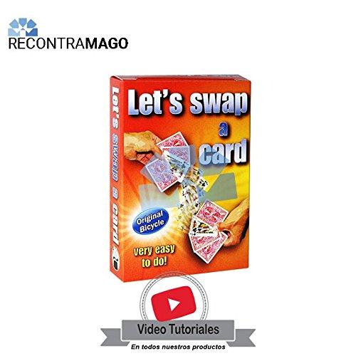 RecontraMago Magia - El Cambio Mágico - Hecho con Cartas Originales Bicycle - Juegos de Magia con Cartas Faciles y Divertidos - Incluye VideoTutorial ...