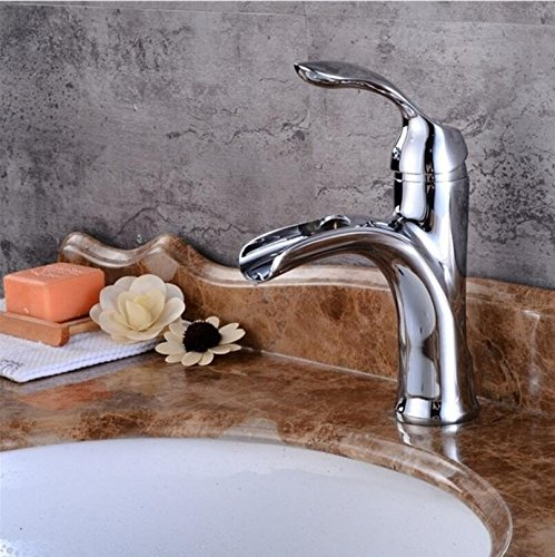C Decorry New Design Antique Brass Faucet Brushed Nickel Bathroom Faucet Black and Chrome Basin tap B507 A