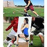 Huture 2pcs Fitness Thigh Straps Neoprene Padded